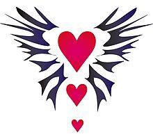 Tribal Heart - Design by Valentina Miletic by Valentina Miletic