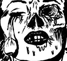 Zombie Marilyn Sticker