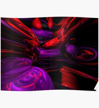 Psychedelic Abstract Poster