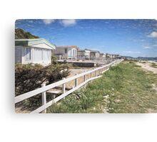 Monmouth Beach - Impressions Canvas Print
