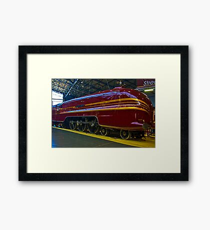 Duchess of Hamilton Framed Print