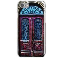 Abandoned Wooden Door Fine Art Print iPhone Case/Skin