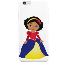 Dark-skinned Snow White iPhone Case/Skin