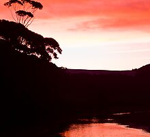 Sunset over the Thurra - Croajingolong National Park  by salsbells69