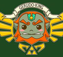 Ganondorf, the King of Evil (Wind Waker) by TheWhaleBaby