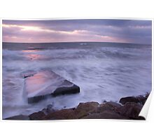 Blackwater beach at dawn, County Wexford, Ireland Poster