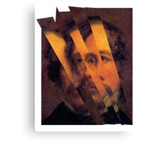 Charles Dickens. Canvas Print