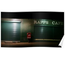 Rapps Cafe Poster