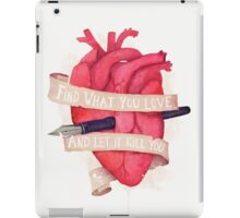 Find What You Love iPad Case/Skin