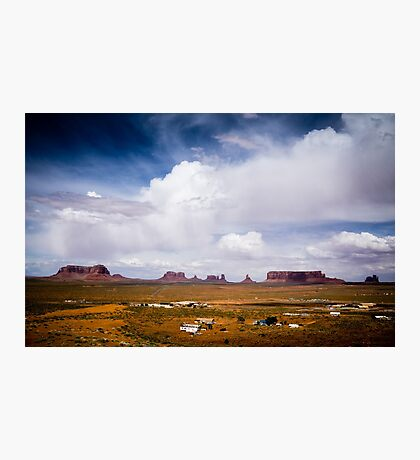 Monument Valley in the Spring Photographic Print