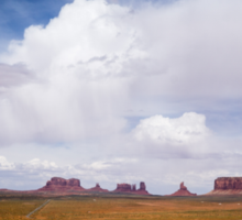 Monument Valley in the Spring Sticker