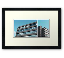 concrete and sky Framed Print