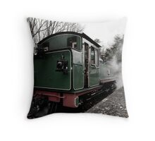 All hot and steamy - Puffing Billy Throw Pillow