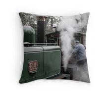 Workin' on the Railway Throw Pillow