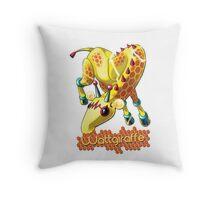 Wattgiraffe Throw Pillow