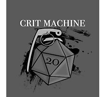 D20 Crit Machine Photographic Print
