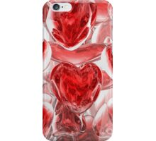 Hearts Afire Abstract iPhone Case/Skin