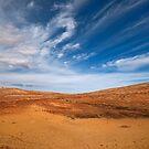 Roadside - Oodnadatta Track - South Australia  by Jeff Catford
