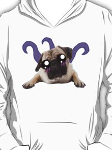 Kawaii Alien Pug T-Shirt