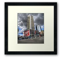Coke at Zenith Apartments Framed Print