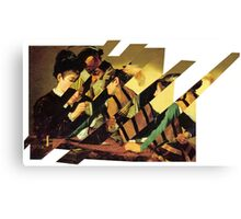 Card Sharps Canvas Print