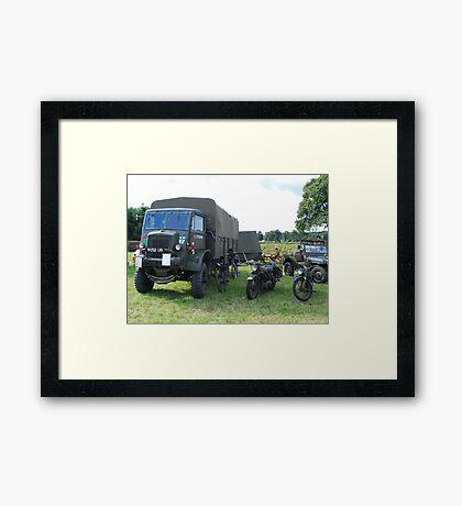 Base Camp Framed Print
