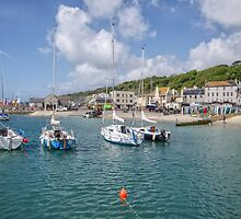 Lyme Regis Harbour - May 2015 by Susie Peek