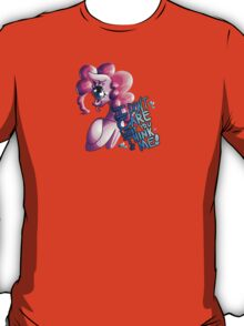Aggressively Motivational Pinkie Pie T-Shirt