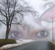 I See Her Eyes Amongst The Fog by Julie Everhart