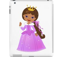 African American  Beautiful Princess iPad Case/Skin