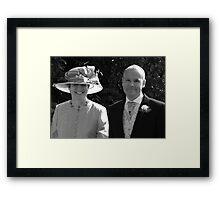 Bride's Parents Framed Print