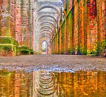 Fountains Abbey by Gouzelka