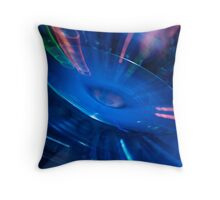 Spinning out of Control! Throw Pillow