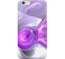 Purple Bunny Abstract iPhone Case/Skin