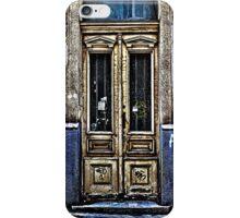 Abandoned White Door Fine Art Print iPhone Case/Skin
