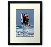 """Go Commando"" - Boat 42 Framed Print"