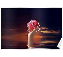 The last flower... Poster