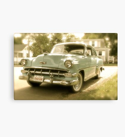 1954 Chevy Powerglide Canvas Print