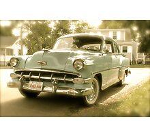 1954 Chevy Powerglide Photographic Print