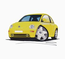 VW New Beetle Yellow