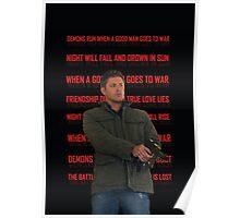 Deanmons Run Poster