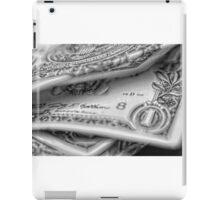 1.00 Bill Pencil iPad Case/Skin