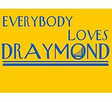 Everybody Loves Draymond Blue Photographic Print