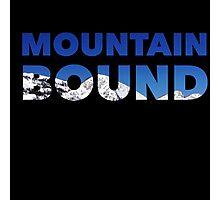 Mountain Bound  Photographic Print
