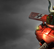 Red Baron Corki Sticker