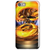 Solar Flare Abstract iPhone Case/Skin