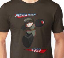 WWII style Mega Man Unisex T-Shirt