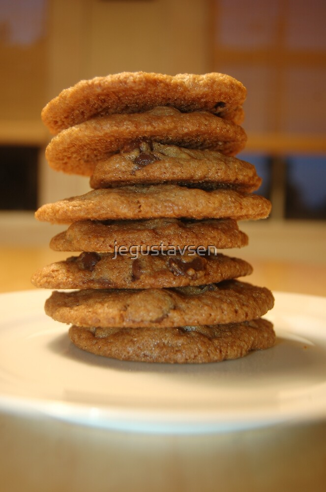Whole Wheat Chocolate Chip Cookies by jegustavsen