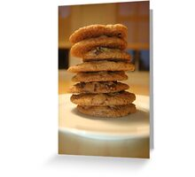 Whole Wheat Chocolate Chip Cookies Greeting Card