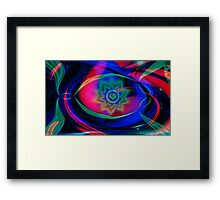 Secret of my heart-Abstract Art + Design products Framed Print
